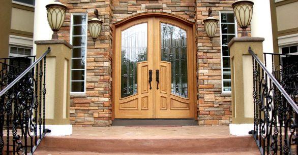 Kompakt ve Kompozit Malzeme Kullanılan Kaliteli Villa Kapısı Modelleri